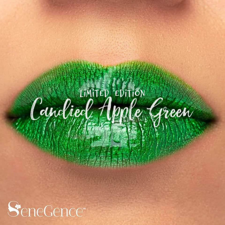 lipsense carnival collection, senegence carnival collection, carnival collection by LipSense, carnival collection by SeneGencecandied apple green lipsense, lipsense carnival collection, carnival collection