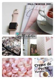 Pantone Trends Fall 2019, Pantone Fall 2019 Colors, Creme de Peche, Creme de Peche Pantone Color, Fall/Winter 2019 Pantone Color
