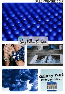 Pantone Trends Fall 2019, Pantone Fall 2019 Colors, Galaxy Blue, Galaxy Blue Pantone Color, Fall/Winter 2019 Pantone Color