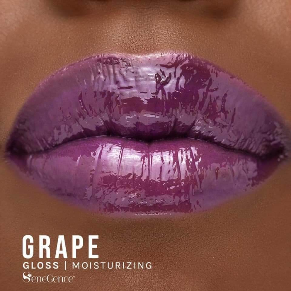 grape gloss, lipsense gloss jellies collection