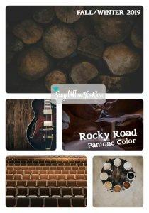 Pantone Trends Fall 2019, Pantone Fall 2019 Colors, Rocky Road, Rocky Road Pantone Color, Fall/Winter 2019 Pantone Color