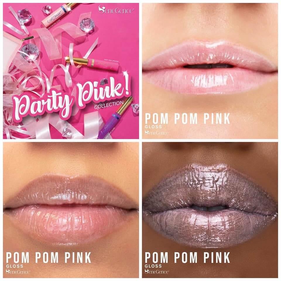 Party Pink Collection, Pom Pom Pink Gloss, Pom Pom gloss