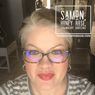 Samon LipSense, Honey Rose LipSense , Strawbery Shortcake LipSense, LipSense Mixology