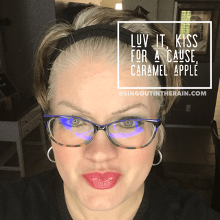 Luv It LipSense, Kiss for a Cause LipSense, Caramel Apple LipSense