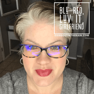 Blu-Red LipSense, Luv It LipSense, Girlfriend LipSense