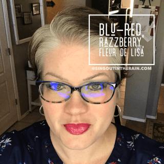 Blu Red LipSense, Razzberry LipSense, Fleur de Lisa LipSense, LipSense Mixology