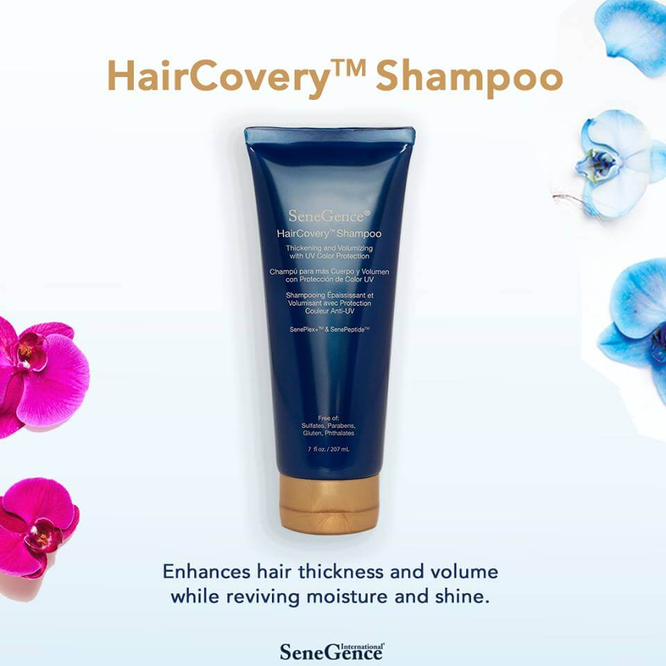 haircovery hair care, haircovery shampoo, senegence haircovery, senegence haircovery hair care