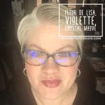 Fleur de Lisa Lipsense, Lipsense Mixology, violette LipSense, Crystal Mauve LipSense