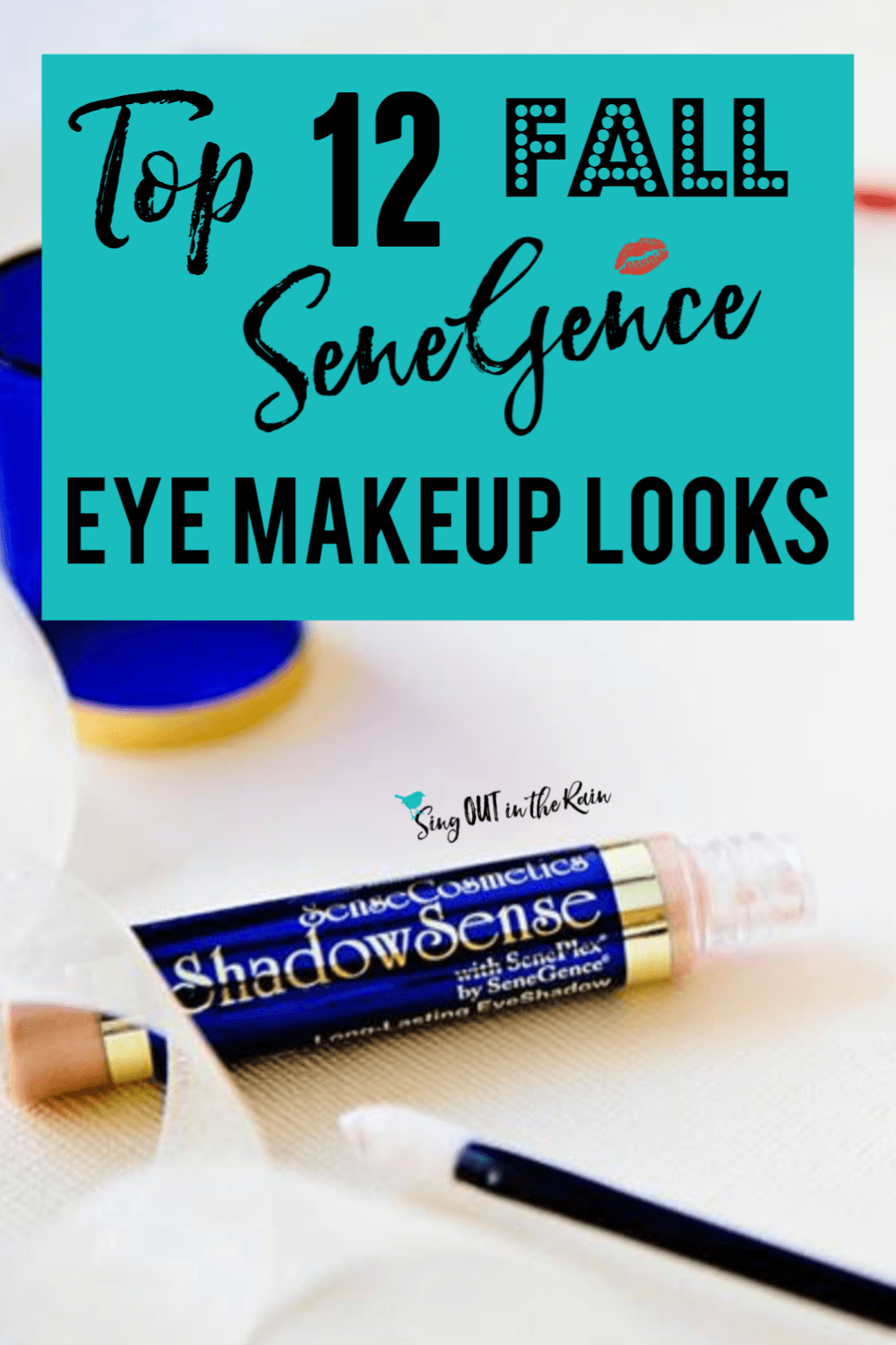 Get the perfect FALL eye looks using SeneGence ShadowSense trios with these graphics.  Your next favorite eyeshadow combinations are inside!!  Best makeup colors ideas for all of Fall.  #fall #shadowsense #senegence #eyeshadow #shadowsensetrios