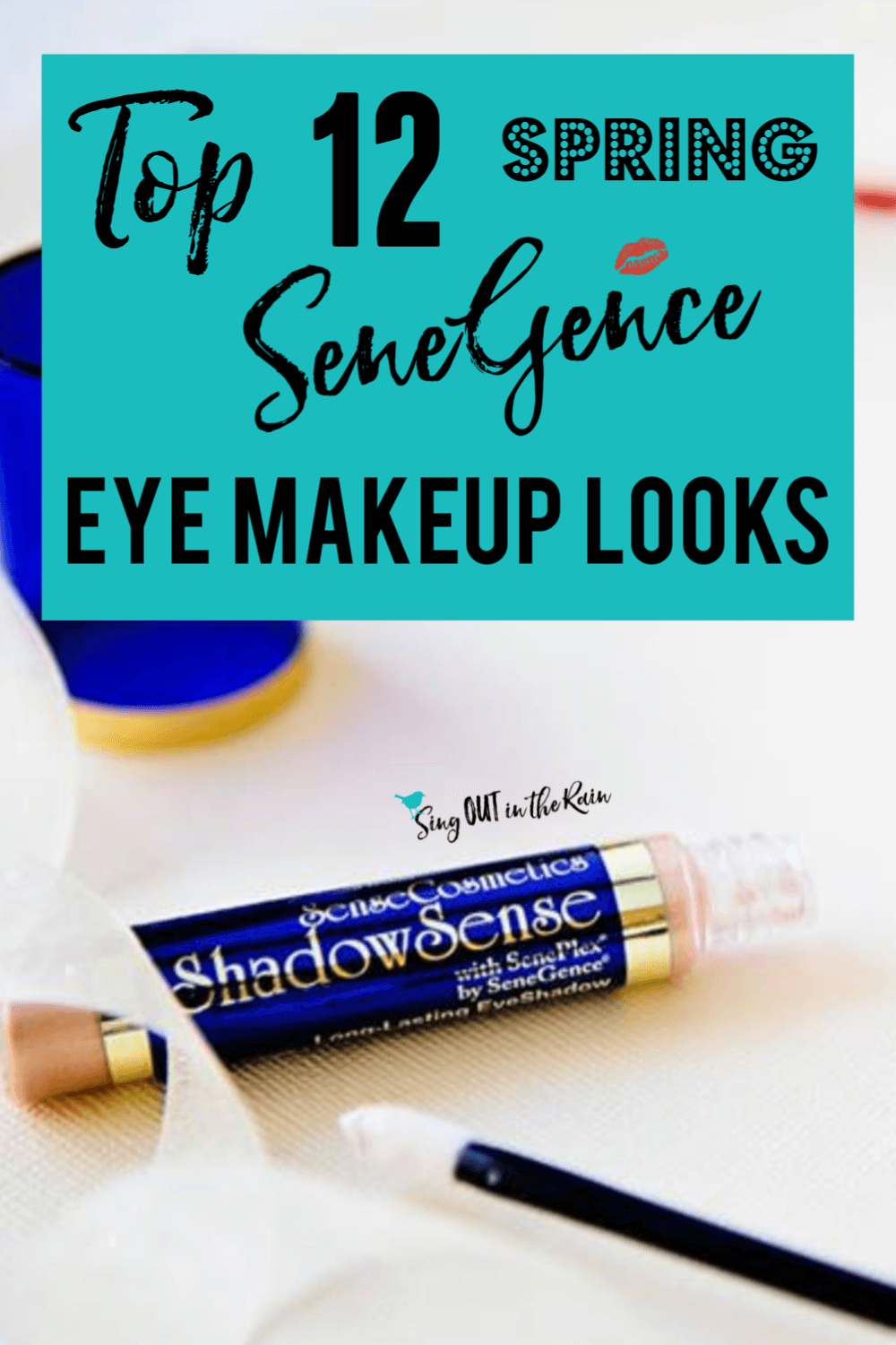 Get the perfect Spring eye looks using SeneGence ShadowSense trios with these graphics.  Your next favorite eyeshadow combinations are inside!!  Best makeup colors ideas for all winter long.  #spring #shadowsense #senegence #eyeshadow #shadowsensetrios