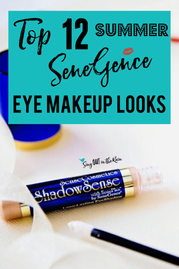 Summer SeneGence Eye Makeup, Best ShadowSense for Summer