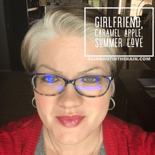 LipSense Mixology, Girlfriend LipSense, Caramel Apple LipSense, Summer Love LipSense