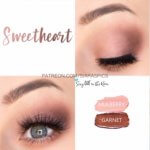 Sweetheart eye trio, mulberry shadowsense, garnet shadowsense