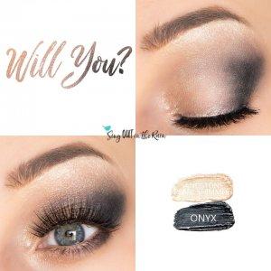 Will You Eye Trio, Sandstone Pearl Shimmer ShadowSense, Onyx ShadowSense