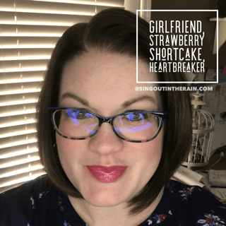 Girlfriend LipSense, Strawberry Shortcake LipSense, Heartbreaker LipSense, LipSense Mixology