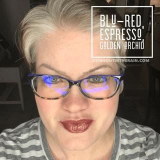 Blu-Red LipSense, Espresso LipSense, Golden Orchid LipSense, LipSense Mixology