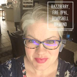 Razzberry LipSense, LipSense Mixology, Fire Opal LipSense, Bombshell Diamond LipSense