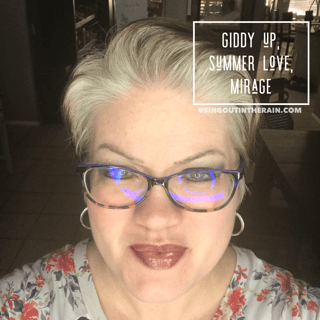 LipSense Mixology, Giddy Up LipSense, Summer Love LipSense, Mirage LipSense