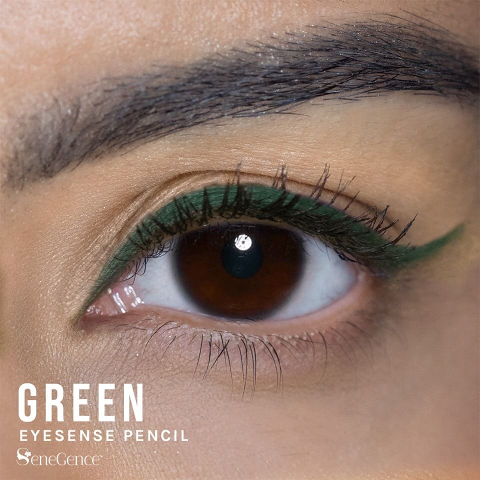 Green Eyeliner, Green EyeSense, Green Eyeliner Pencil