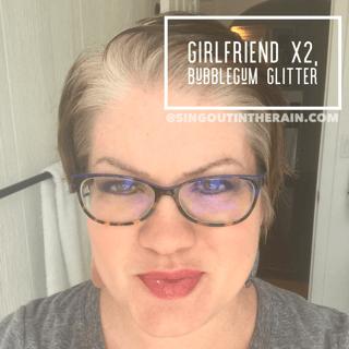 Girlfriend LipSense, Bubblegum Glitter LipSense, LipSense Mixology