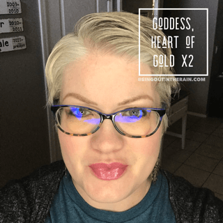 Goddess LipSense, LipSense Mixology, Heart of Gold LipSense