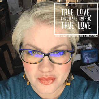 True Love LipSense, Chocolate Copper LipSense, True Love LipSense