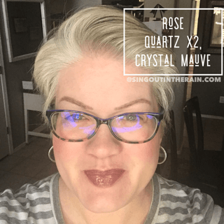 Rose Quartz LipSense, Crystal Mauve LipSense, LipSense Mixology