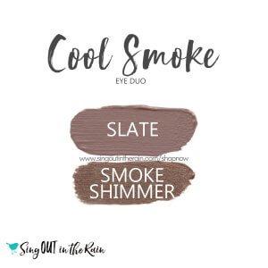 Cool Smoke Eye Duo, Slate ShadowSense, Smoke Shimmer ShadowSense