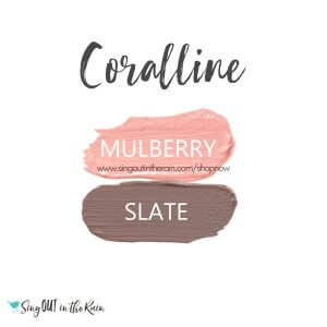 Coralline Eye Duo, Mulberry ShadowSense, Slate ShadowSense