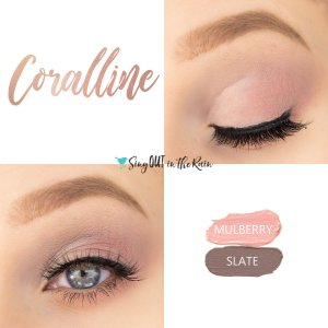 Coralline Eye Duo, Mulberry ShadowSEnse, Slate ShadowSense