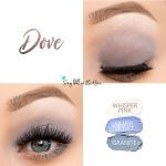 Dove Eye Trio, Whisper Pink ShadowSense, Silver Violet Shadowsese, Granite Shadowsense