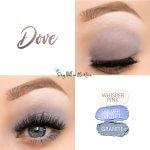 Dove Eye Trio, Whisper Pink ShadowSense, Silver Violet Shadowsese, Granite Shadowsense