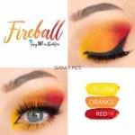 Fireball Eye Trio, yellow shadowsense, orange shadowsense, red shadowsense