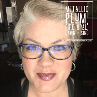Metallic Plum LipSense, Fire Opal LipSense, Dawn Rising LipSense, Lipsense Mixology