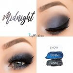 Midnight Eye Trio, Snow ShadowSense, Denim ShadowSense, Onyx ShadowSense