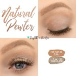 Natural Pewter Eye Duo, Pewter Shimmer ShadowSense, Natural Tan ShadowSense