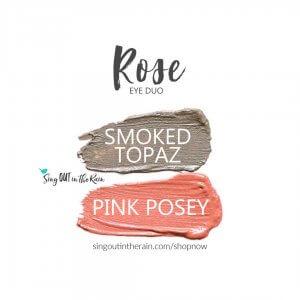 Rose Eye Duo, Smoked Topaz ShadowSense, pink posey shadowsense
