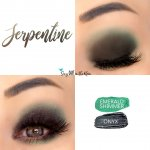Serpentine Eye Duo, Sapphire Shimmer ShadowSense, Onyx Shadowsense
