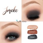 Smoke Eye Trio, Moca Java ShadowSense, Garnet ShadowSense, Onyx Shadowsense
