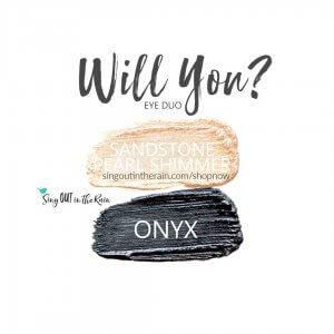 Will you eye duo, onyx shadowsense, sandstone pearl shimmer shadowsense