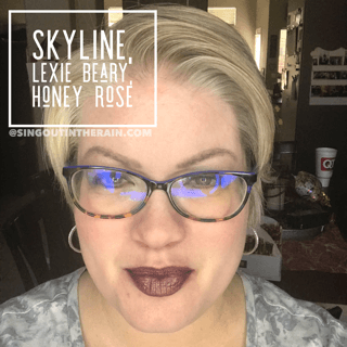 Skyline LipSense, Lexie Beary LipSense, Honey Rose LipSense, LipSense Mixology