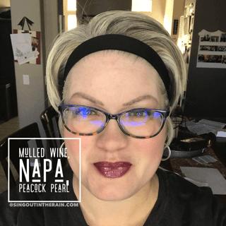 Mulled Wine LipSense, LipSense Mixology, Napa LipSense, Peacock Pearl LipSense