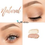 Natural Eye Look, Sandstone Pearl Shimmer ShadowSense, Moca Java ShadowSense