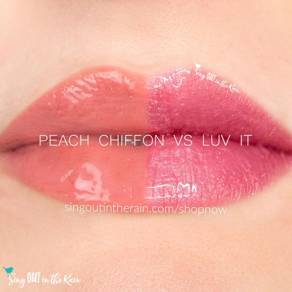 Peach Chiffon LipSense, Luv It LipSense