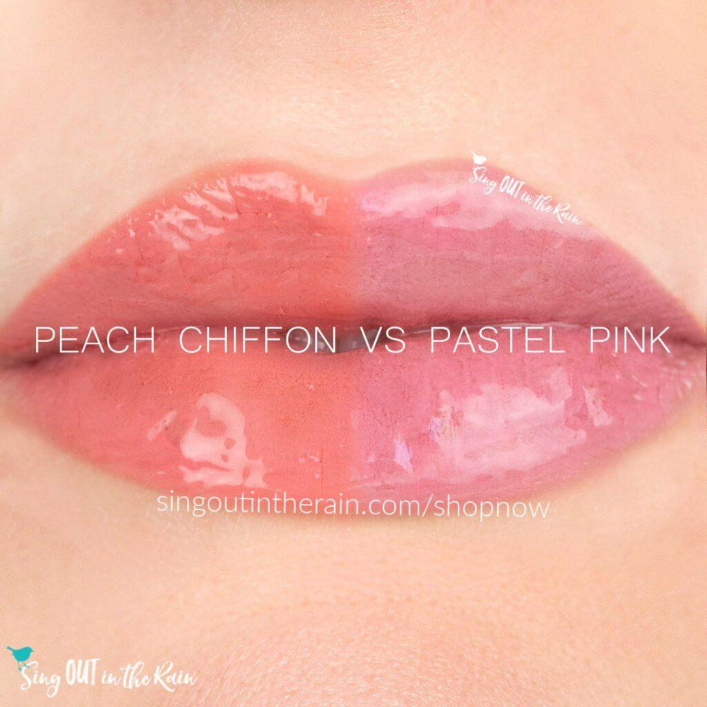 Peach Chiffon LipSense, Pastel Pink LipSense