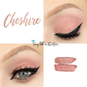 Cheshire Eye Duo, Sunbaked Shimmer ShadowSense, Desert Rose ShadowSense
