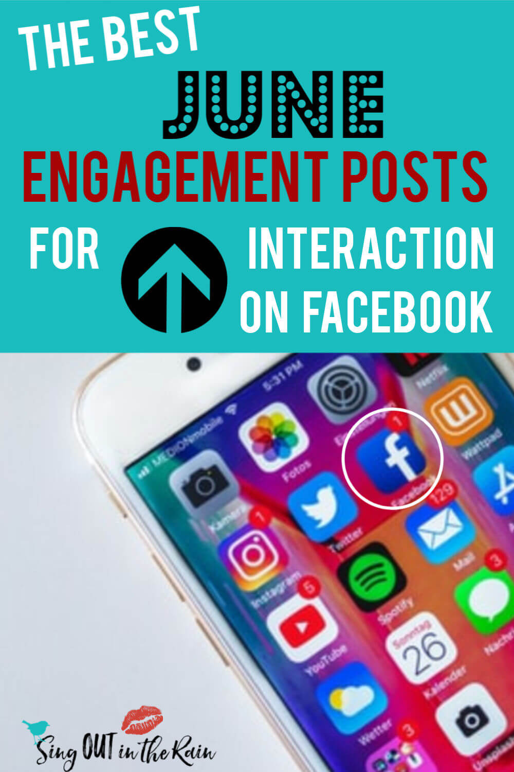 The BEST June Engagement Posts for MAXIMUM FB interaction