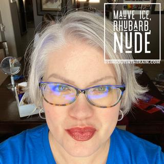 Mauve Ice LipSense, LipSense Mixology, Nude LipSense, Rhubarb LipSense