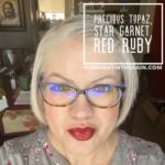Precious Topaz LipSense, Star Garnet LipSense, LipSense Mixology, Red Ruby LipSense