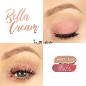 Bella Cream ShadowSense, Moca Java ShadowSense, Bella Cream Eye Look